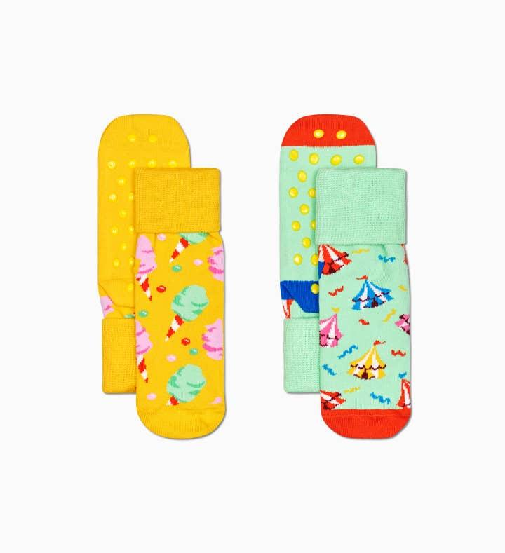 2-Pack Kids Circus Anti-Slip
