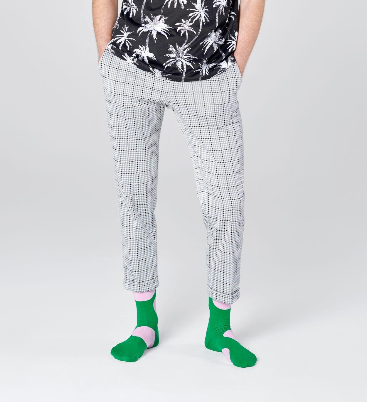 Jumbo Dot Socks, Green | Happy Socks