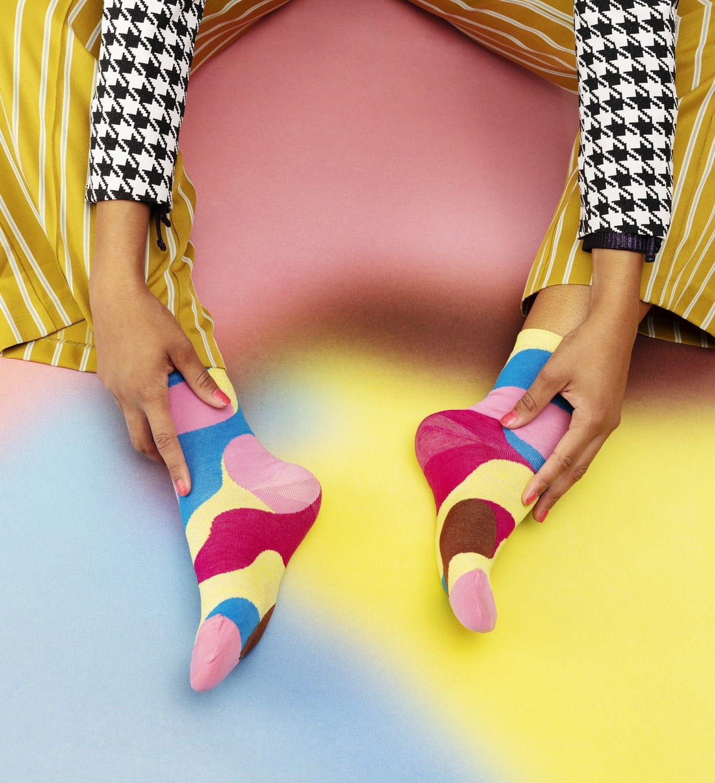 Pinke Ankle Socken: Alice - Hysteria | Happy Socks
