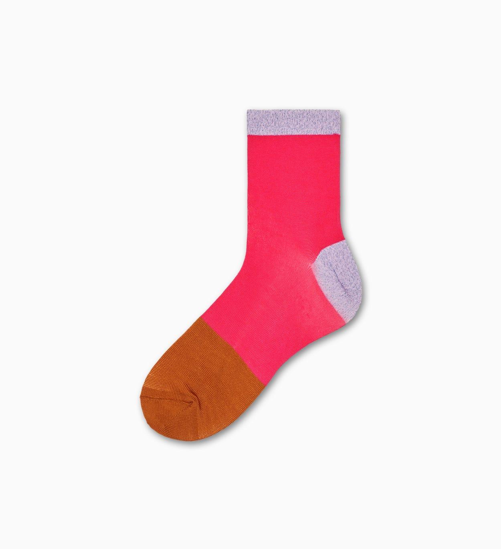 Pinke niedrige Socken: Liza   Hysteria by Happy Socks