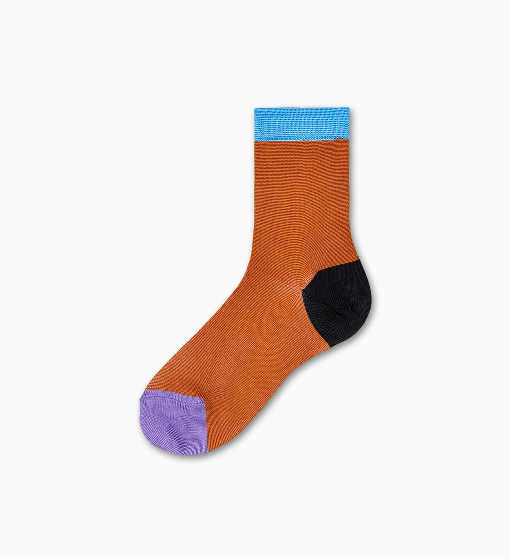 Braune Ankle Socken: Grace - Hysteria   Happy Socks