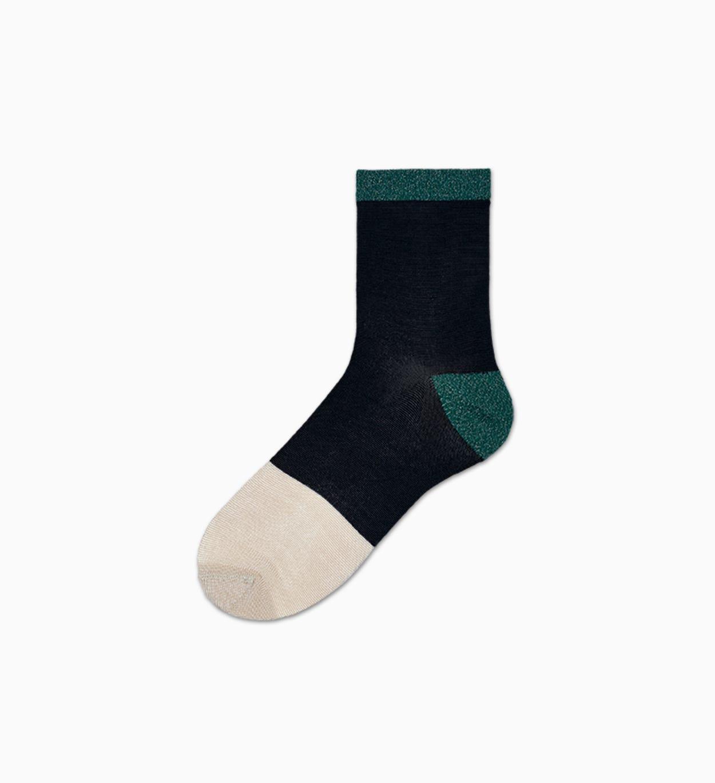 Damen Sneaker Socken: Liza - Schwarz | Hysteria