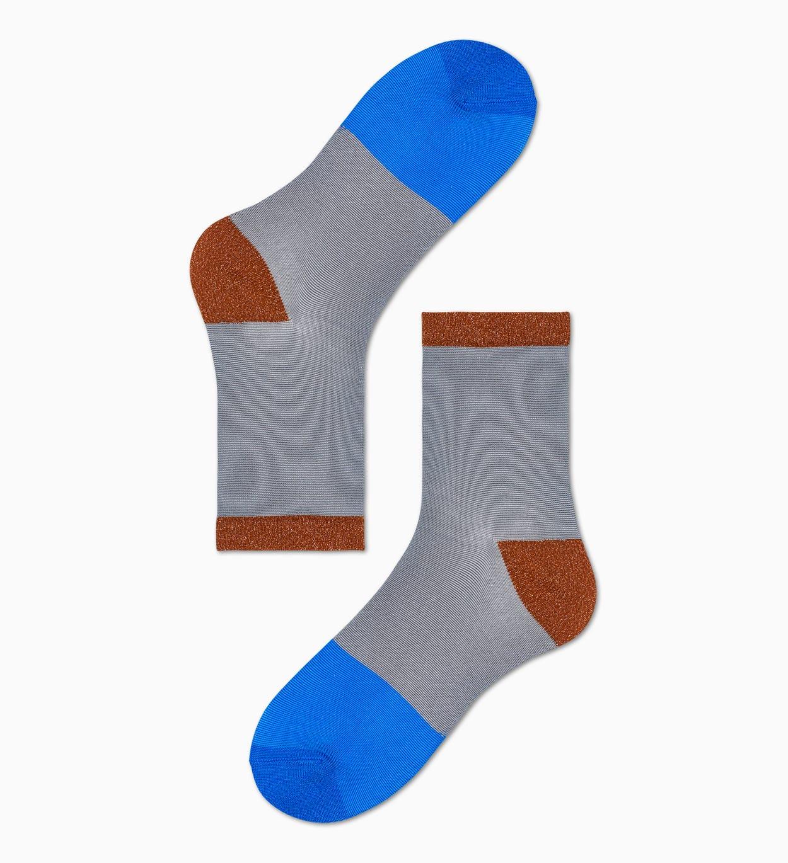Damen Sneaker Socken: Liza - Grau | Hysteria
