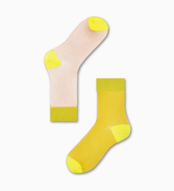Gelbe Ankle Socken: Filippa - Hysteria | Happy Socks