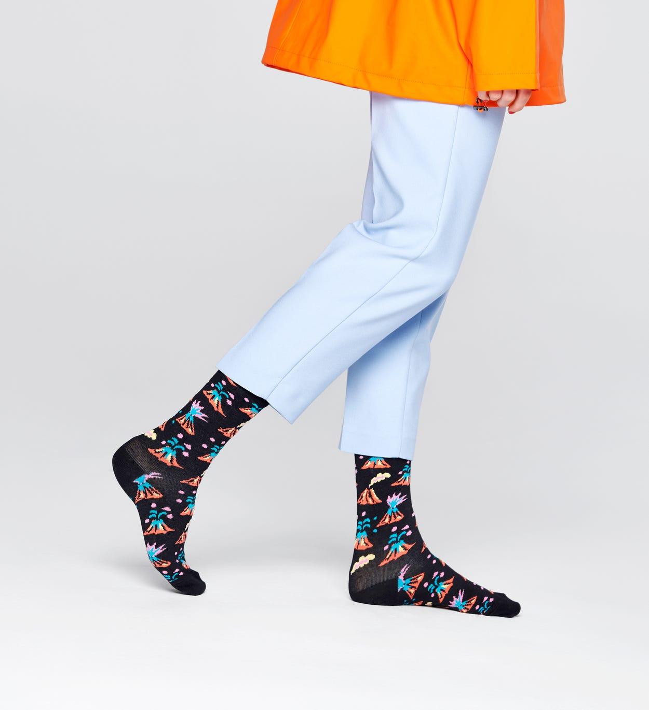 Volcano Socken, Schwarz   Happy Socks