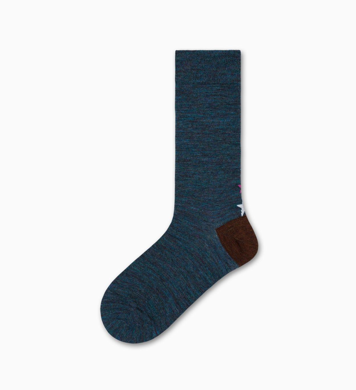 Blaue mittelhohe Socken: GIna - Hysteria   Happy Socks