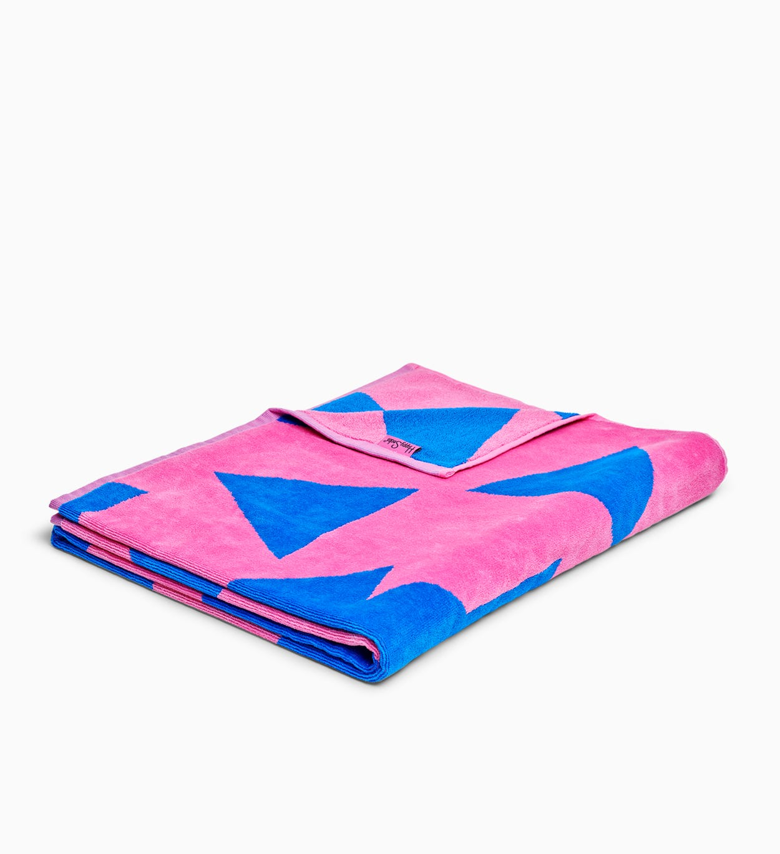 Pink, Blaues Badehandtuch: Stripe Dot | Happy Socks