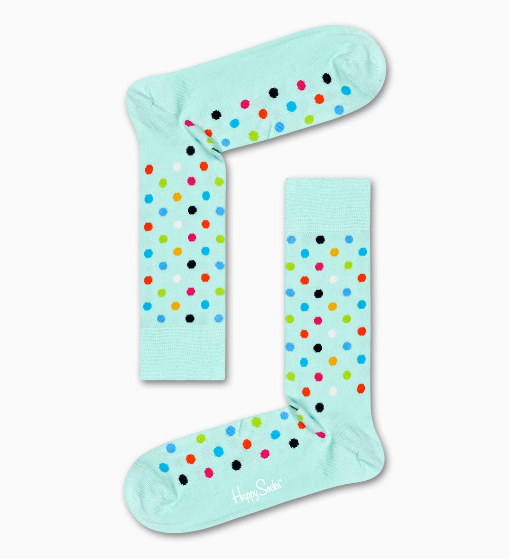 Dot Socken, Mintgrün | Happy Socks