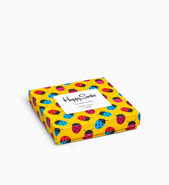 Baby socks gift box: Ladybug - 4pc   Happy Socks