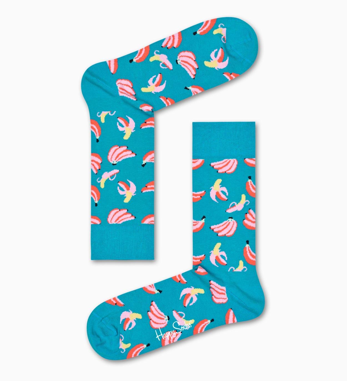 Türkise Bananen Socken: Banana | Happy Socks