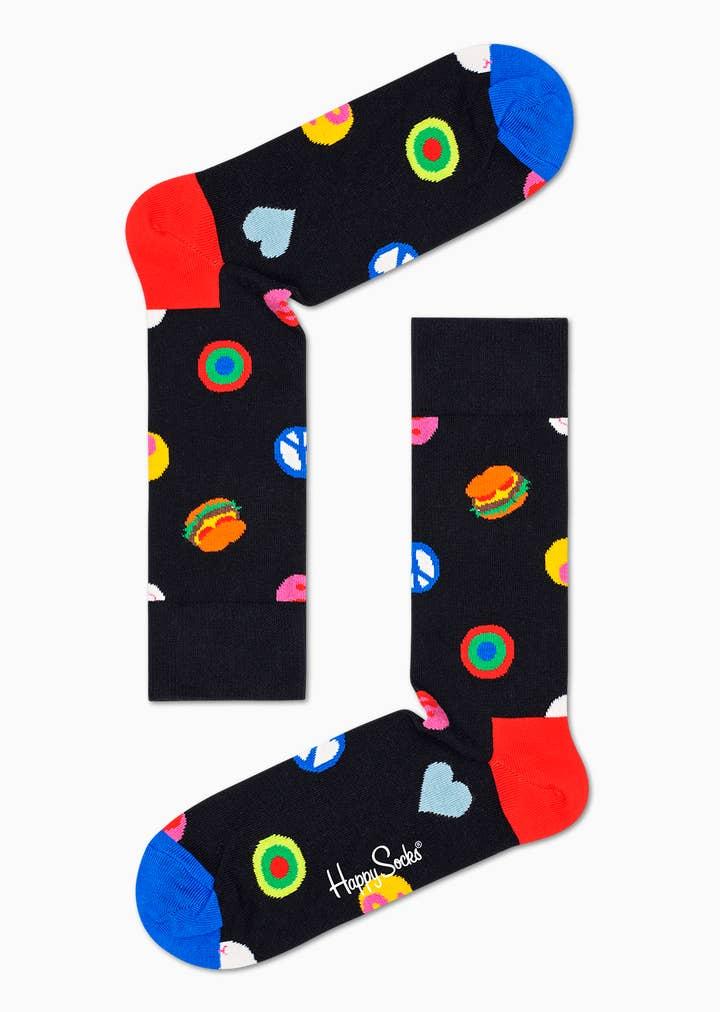 Symbol Dot Sock