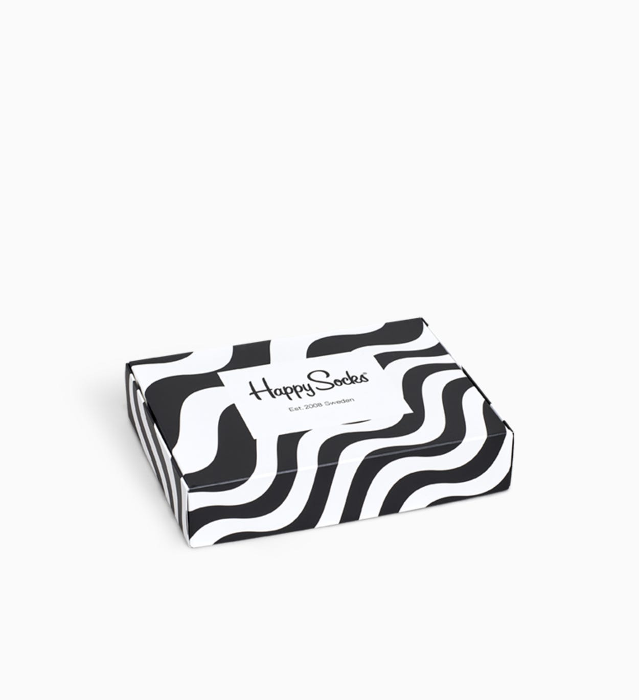 Wavy Stripe Flat Pack 2er-Packung   Happy Socks
