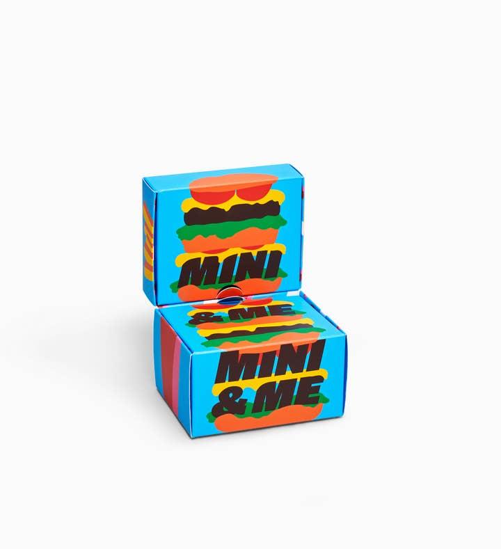 Kids Burger Socks Gift Box