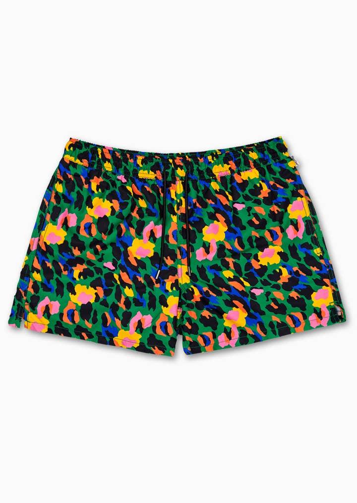 Leopard Swim Shorts