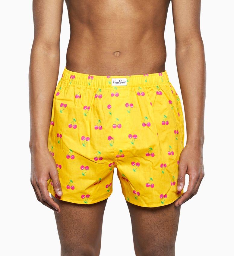 Gelber Men's Boxer: Cherry  Style | Happy Socks