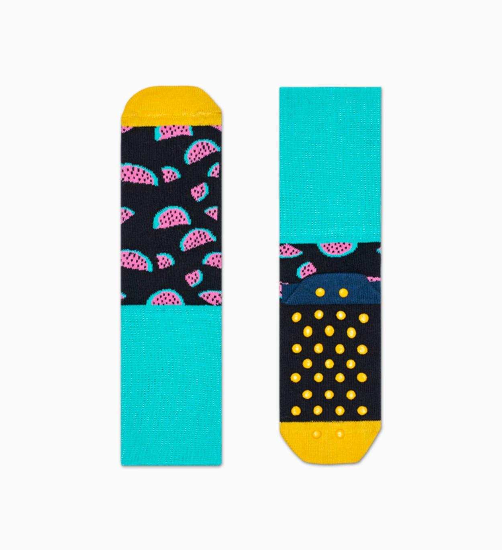 Anti-slip Socken für Kinder 2-Pack: Watermelon | Happy Socks