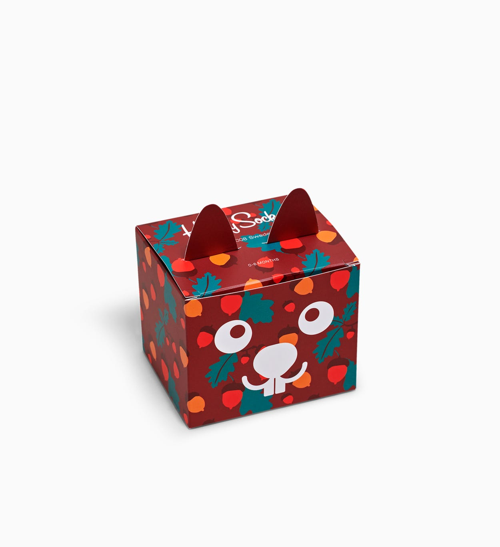 Geschenkbox mit Socken für Kinder: Wald | Happy Socks
