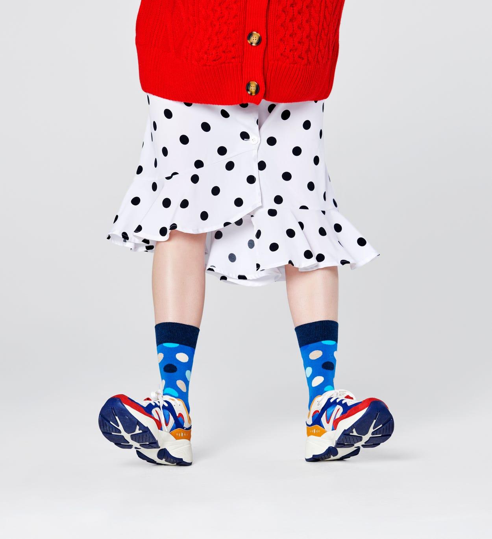 Big Dot Socken, Blau   Happy Socks