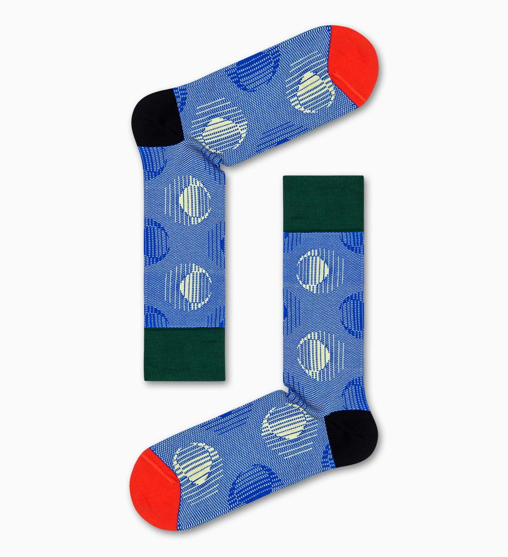 Eclipse Socken, Blau - Dressed | Happy Socks