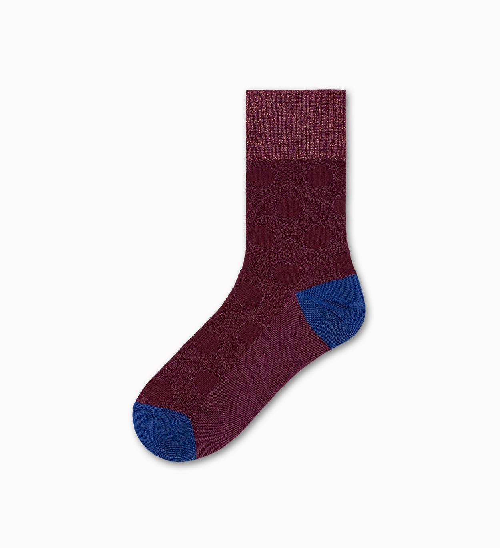 Lilafarbene mittelhohe Socken: Gabrielle - Hysteria | Happy Socks