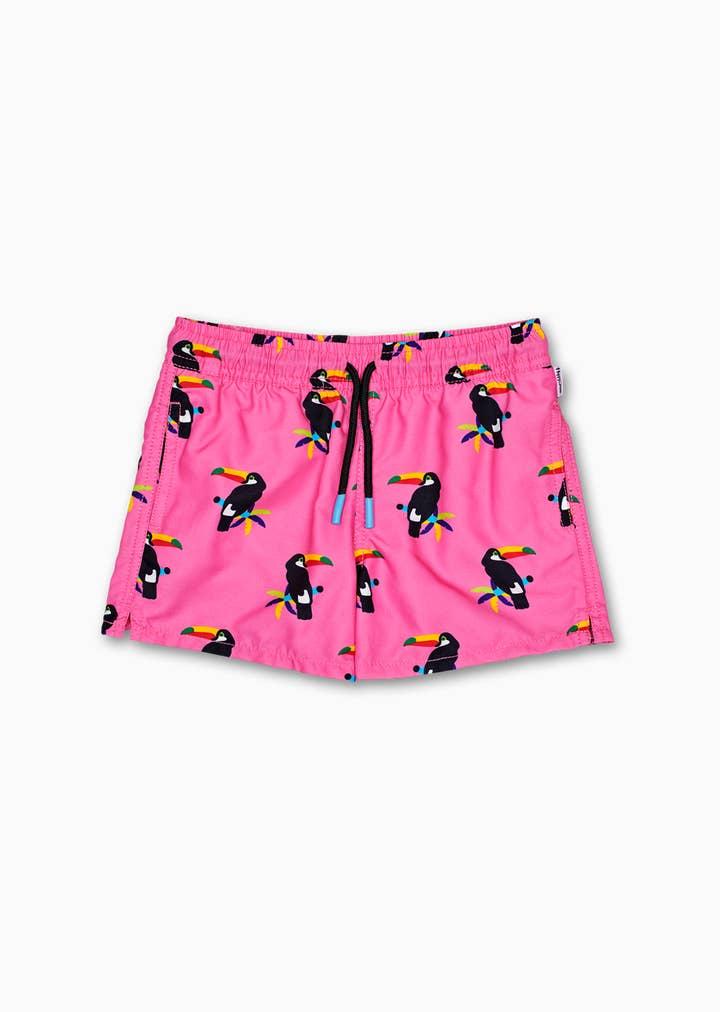 Kids Toucan Swim Shorts