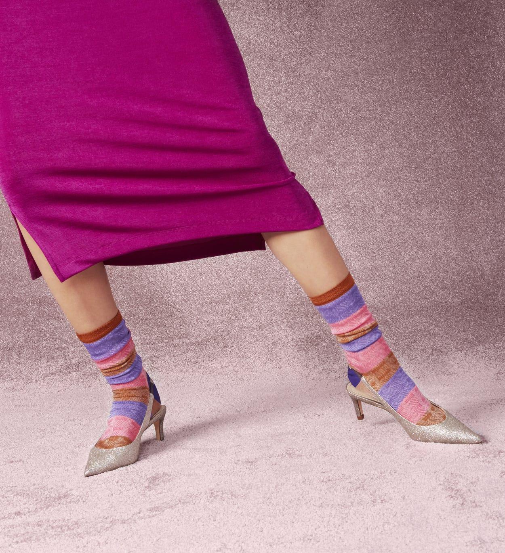 Pinke mittelhohe Socken: Myggan   Hysteria by Happy Socks