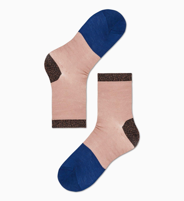 Blaue niedrige Socken: Liza | Hysteria by Happy Socks