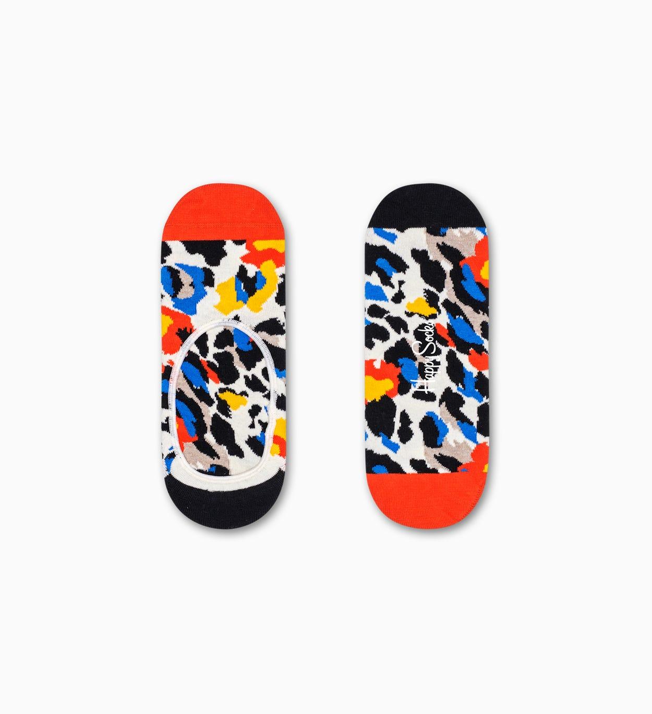 Leopard Füßlinge, Orange   Happy Socks