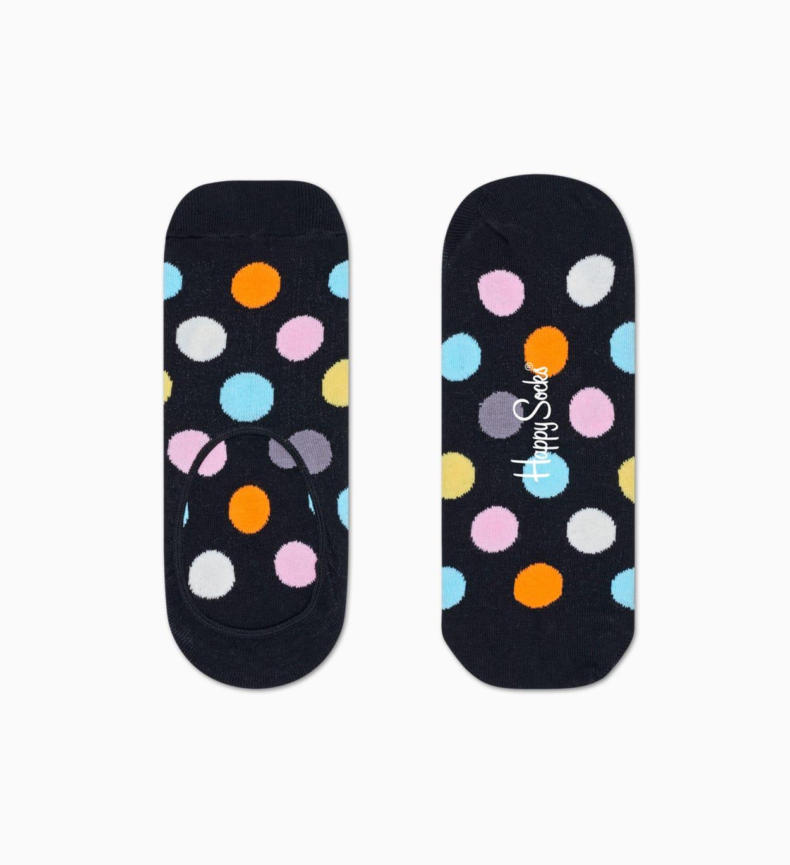 Schwarze  Füßlinge: Big Dot Design   Happy Socks