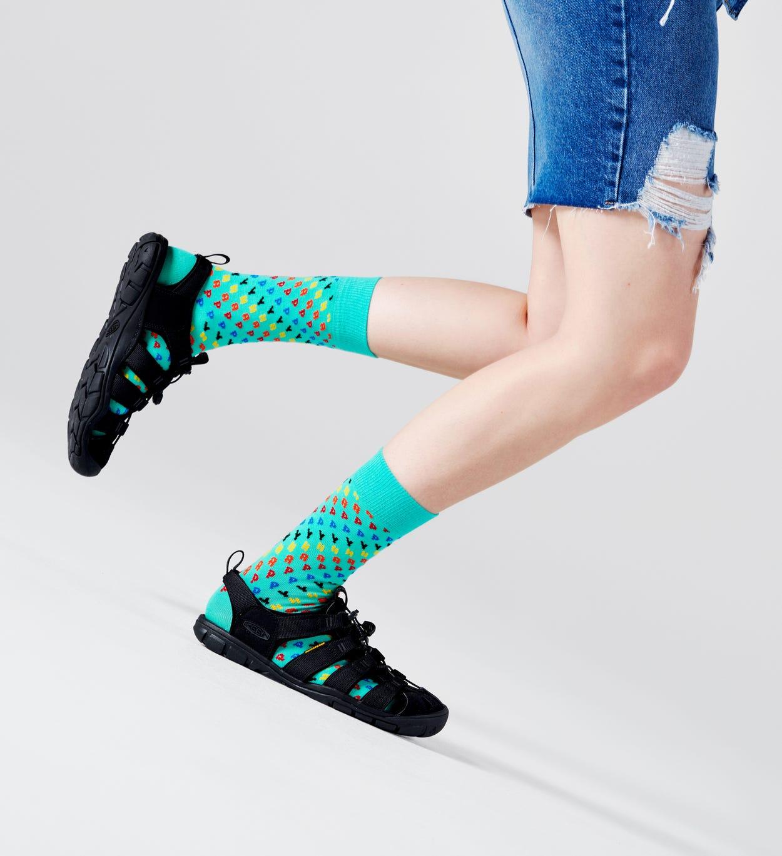 Happy Socken, Türkis | Happy Socks