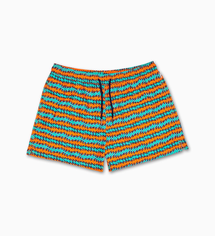 Herren Badeshorts: Rock´n Roll Stripe   Happy Socks