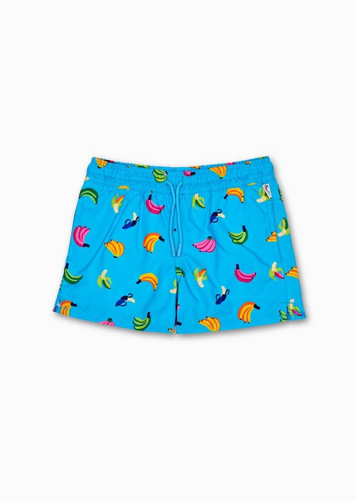 Kids Banana Swim Shorts