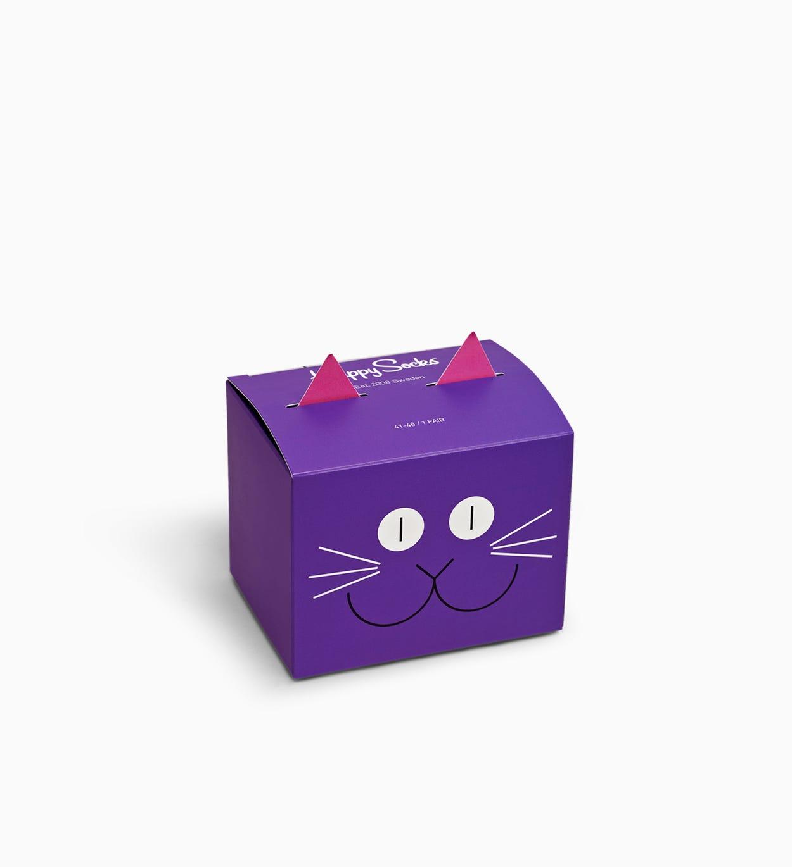 Kleurrijke   Leuke Cat sokken Gift Box 1st | Happy Socks
