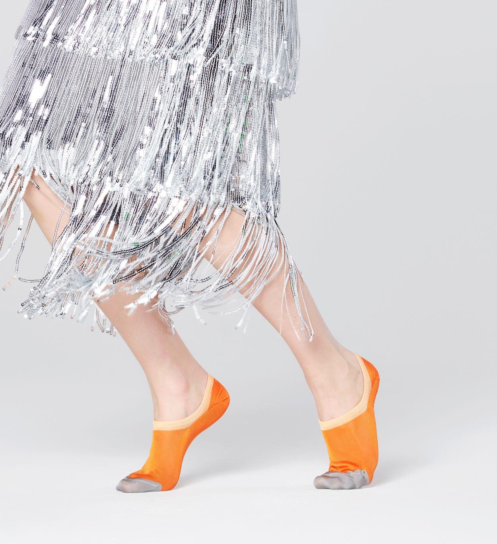 Gry unsichtbare Sneakersocken, Orange - Hysteria   Happy Socks