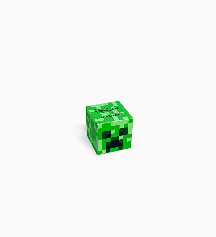 Happy Socks x Minecraft: Kids Minecraft Gift Box - Green